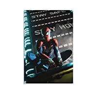 マーベル 映画1 スパイダーマンフ えーゆー ィギュア 壁紙 アベンジャーズ ポスター ウォールアート キャンバス 印刷 画像 ポスター 壁の絵 壁掛け 壁飾り 誕生日ギフト ホーム装飾24x36inch(60x90cm)