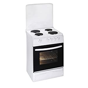 PKM EH4-50 GA Independiente Hornillo eléctrico/Placa eléctrica A Blanco - Cocina (Cocina independiente, Blanco, Giratorio, Frente, Hornillo eléctrico/Placa eléctrica, esmalte de acero)
