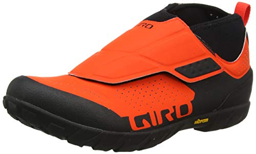 Giro Terraduro Mid MTB, Zapatos de Bicicleta de montaña para Hombre, Multicolor (Vermillion/Black 000), 41 EU
