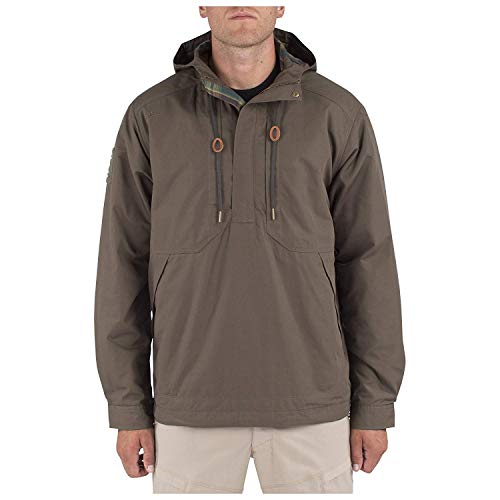 5.11 Men's Taclite Anorak Jacket, Tundra, X-Large