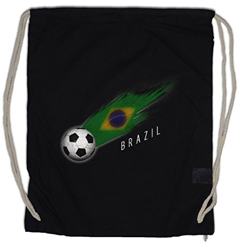 Urban Backwoods Brazil Football Comet Turnbeutel Sporttasche