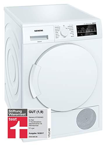 Siemens wt45W463Washing Machine–Washer Dryer (Drum Front, Freestanding, White, Right, B, Rotary, Touch)
