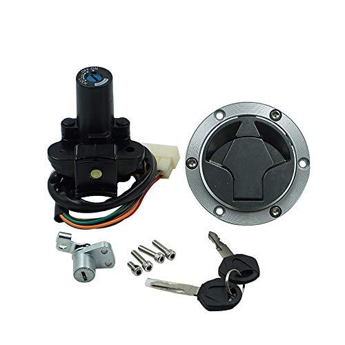 ZXLLNEUR Contactschakelaar Gas Cap Cover Seat Lock Key Set for Kawasaki EX300 Ninja 300 2013-2017