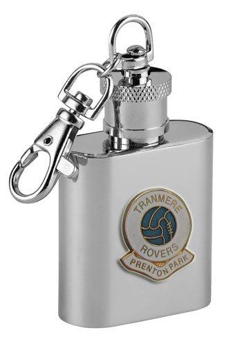 Tranmere Rovers 'Prenton Park' Football Club 1oz Keyring Hip Flask