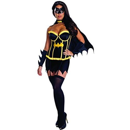 Rubie's IT889900-XS - Batwoman Corset Costume, Adulto, Taglia XS