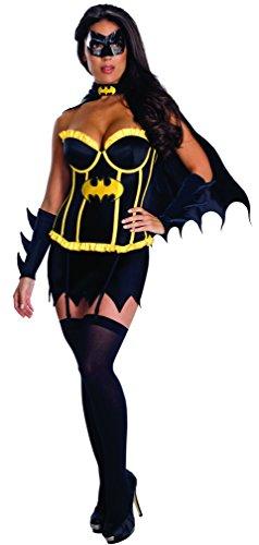 Rubie's Officiële Batgirl Korset voor dames, volwassenen, maat L