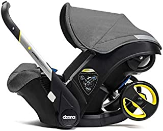 Doona Infant Car Seat & Latch Base – Storm/Grey – US Version