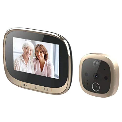 Wallfire 4.3inch Digital Door Viewer Doorbell with Motion Detection...