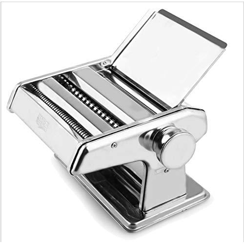 Foxglove Nudelmaschine Pasta Maker | Edelstahl Frische Manuell Pasta Walze Maschine Cutter | Pastamaschine für Spaghetti Bandnudeln Lasagne Cannelloni Tagliatelle