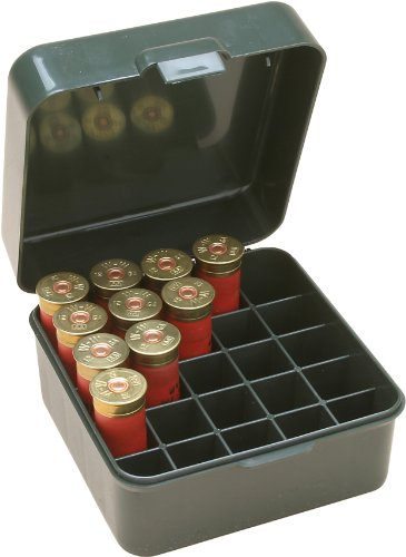 MTM Multi Gauge 25 Round Shotshell Box (Forest Green)