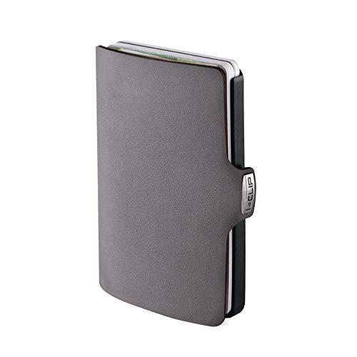 I-CLIP Original Black Soft Touch Urban Grey, Geldbörse, Kartenetui, Wallet