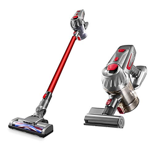 For Sale! Household Cordless Vacuum Cleaner,Ultra-Quiet Large Suction Handheld Vacuum Cleaner,2200mA...