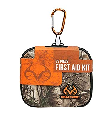 Lifeline 4451 Realtree Hard-Shell Foam First Aid Kit, 53 Piece by Lifeline