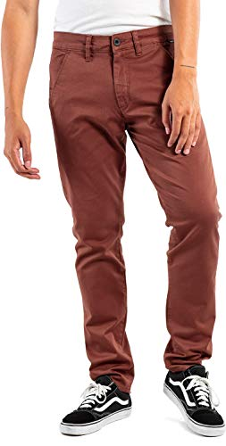 Reell Flex Tapered Chino Chino Red Brown
