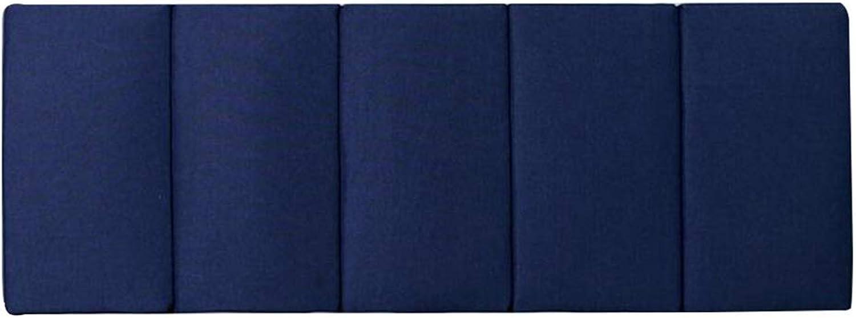 HAIPENG Coussin De Chevet sans pour Autant Tête De Lit en Train De Lire Dossier pour Canapé Grand Oreiller Soucravaten Tapissé Lombaire Doux (Couleur   D, Taille   180x60cm)