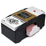 Miscelatore automatico di carte, frullatore elettrico automatico per legno, carte da gioco...