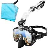 Maschera Subacquea, Maschera Snorkeling Professionale Anti Appannamento, Pieghevole Kit Ma...