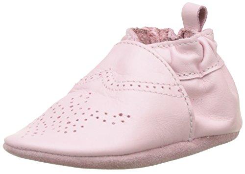 Robeez Unisex Baby Chic & Smart Krabbelschuhe, Rosa (ROSE CLAIR), 21/22 EU (12-18 M)