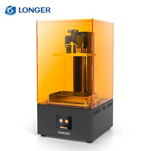 Entweg Résine SLA Imprimante 3D photopolymérisable avec résolution 2K LCD Écran Tactile Couleur 2,8 Pouces Prise en Charge de la découpe Rapide Avertissement Haute température Impression Hors Ligne
