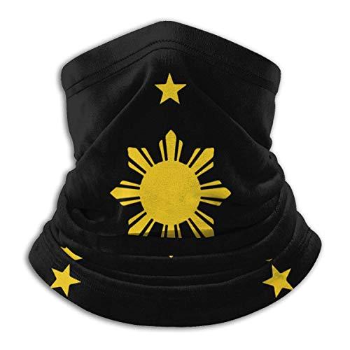 Dydan Tne Philippinen Sonne und Sterne Männer Frauen Kaltwetter Gesichtsschutz zum Angeln und Bergsteigen