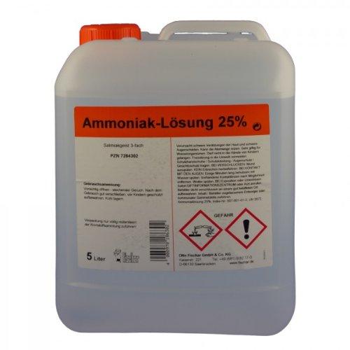 Ammoniaklösung 25% techn. 5 L