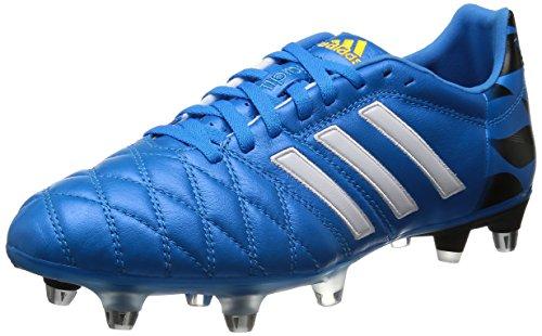 adidas Adipure 11Pro XTRX SG, Scarpe da Calcio, Solar Blue-Blanca, Taglia 6.5 UK (40 EU)