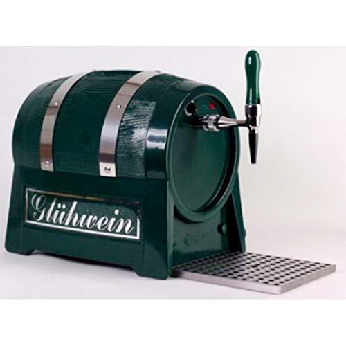 Calentador de bebidas (9 kW, forma de barril), con bomba eléctrica, color verde oscuro o negro