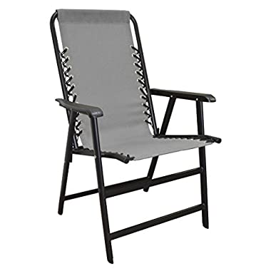 Caravan Sports Suspension Folding Chair - Grey