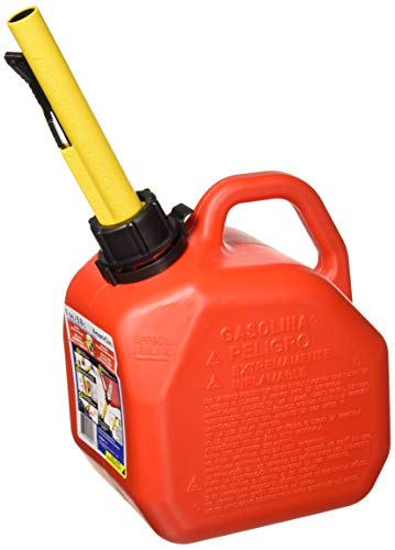 Scepter 1 Gallon Gas Can, Red