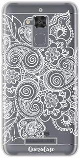 Capa para Zenfone 3 Max 5.2 Renda Branca