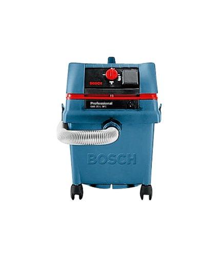 Bosch Professional GAS 25 SFC - Aspirador seco/húmedo (1200 W, capacidad 25 l, manguera 3 m, SFC, 248 mbar)