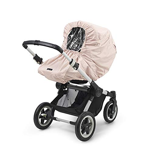 Elodie Details Universal Regenschutz für Kinderwagen/Buggy mit Sichtfenster - Powder Pink