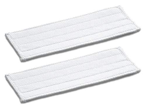 Kärcher Wischtuch für KV 4 (2 Stück, Klettbefestigung, waschbar, für Akku-Wischer KV 4 geeignet)