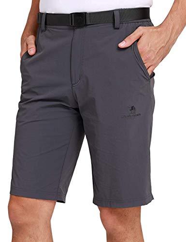 CAMEL CROWN Shorts d'Extérieur à Séchage Rapide pour...