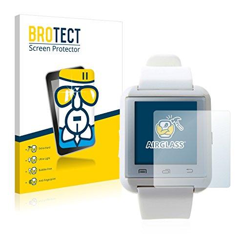 BROTECT Panzerglas Schutzfolie kompatibel mit U Watch U8 - AirGlass, extrem Kratzfest, Anti-Fingerprint, Ultra-transparent