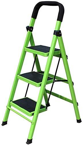 Yxsd Trapladder, binnen ladder metaal draagbare huishoudladder kruk breedte pedaal