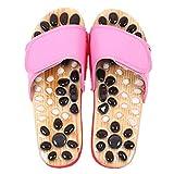 Market A Pebble Mano Foot Acupressure Slipper Korean Foot Massager Chiropractic Slippers Reflexology Sandals Indoor Massage Shoes for Men Women Women 6.5-7