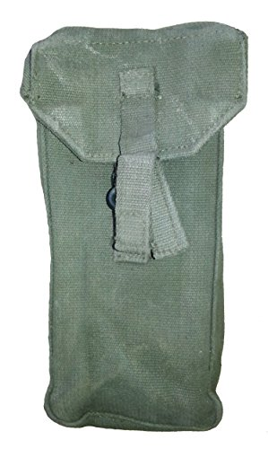 Military Outdoor Clothing Previously Issued UK OD Ammo Pouch for Web Set
