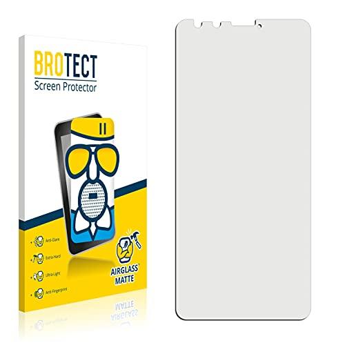BROTECT Entspiegelungs-Panzerglasfolie kompatibel mit TP-Link Neffos C7 Lite - Anti-Reflex Panzerglas Schutz-Folie Matt
