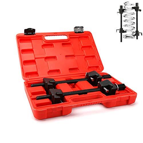 dynofit Solid Coil Spring Compressor Tool, (Set of 2) 21mm Socket 1/2' Drive Safe Universal Set/Kit for Struct Spacer Assembly/Lift Kit/Shock Installation