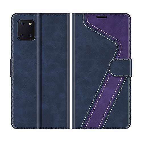 MOBESV Custodia Samsung Galaxy Note 10 Lite, Cover a Libro Samsung Galaxy Note 10 Lite, Custodia in Pelle Samsung Galaxy Note 10 Lite Magnetica Cover per...