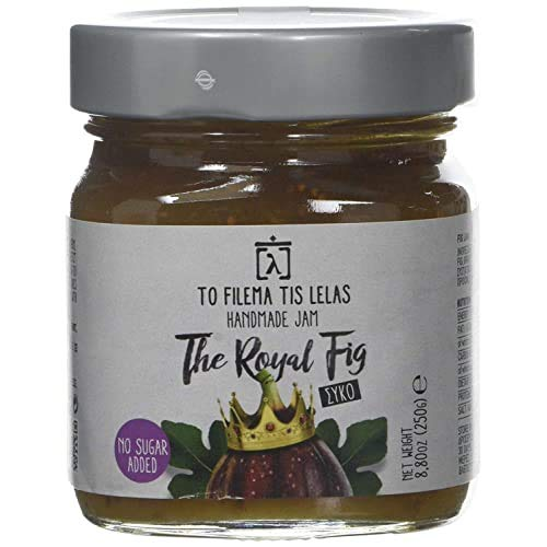 To Filema Tis Lelas Handgemachte Feigenmarmelade OHNE ZUCKERZUERSATZ - The Royal Fig 240 g, 2er Pack
