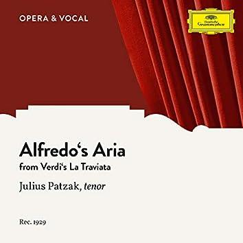 Verdi: La Traviata: Ach, ihres Auges Zauberblick (Alfredo's Aria) (Sung in German)