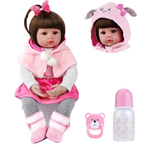MAIHAO Realista Muñecas Reborn Ninas Silicona Muñecos bebé Toddler Baby Dolls Niño Originales Bebes Girls Baratos 50 Cm