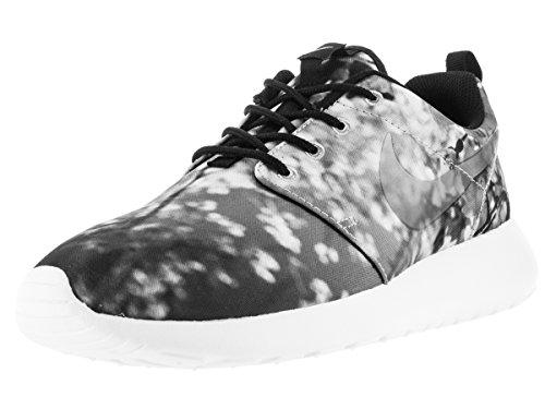 Nike Damen WMNS Roshe One Cherry BLS Fitnessschuhe, Grau/Schwarz/Weiß (Wolf Grey Black White), 44.5 EU