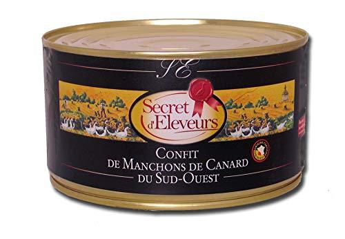 Secret dEleveurs Manchons de Canard Confits du Sud Ouest 7/9 Manchons 1,25 kg