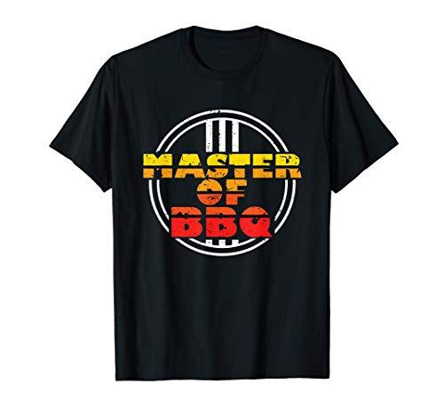 Master of BBQ, Grill Spruch, Grillen Geschenk, Barbecue 2021 T-Shirt