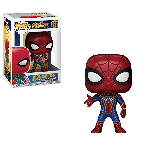 Funko Pop Marvel Infinity War Iron Spider Nc Games Marvel Infinity War Iron Spider Padrão