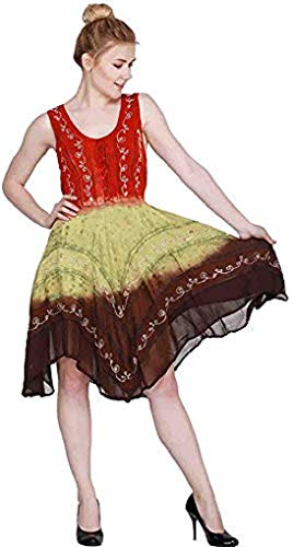 Dancers World Ltd Tiered 9 Yard Tribal Gypsy Maxi Tiered Skirt Danza del Ventre Gonne Misto Seta Gonna Folk Adatto S M L