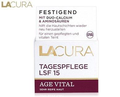 Lacura Tag Age Vital Inhalt: 50ml Tagescreme gegen Falten und festere Haut.